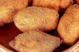Receta de croquetas de pollo y nueces