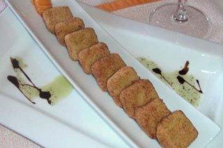 Receta de croquetas líquidas de queso
