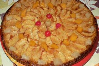 Receta de crujiente de manzana