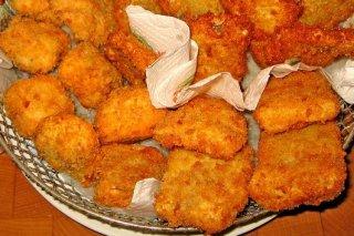 Receta de crujiente de pollo