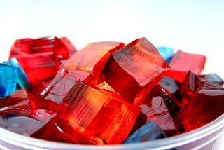 Receta de cubitos de gelatina