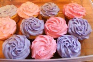 Receta de cupcake normal