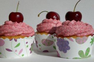 Receta de cupcakes de cereza