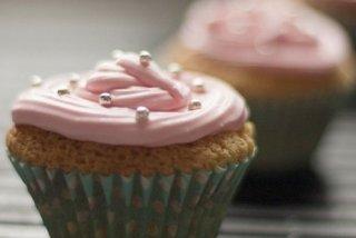 Receta de cupcakes de chocolate blanco