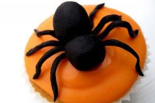 Receta de cupcakes de arañas para halloween