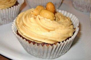 Receta de cupcakes de mantequilla de maní