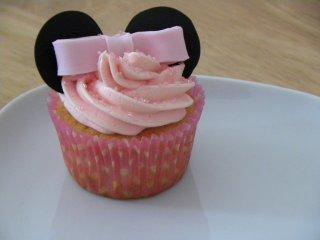 Receta de cupcakes de minnie