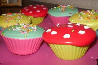 Receta de cupcakes glaseados