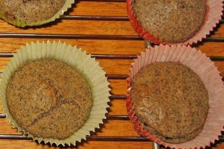 Receta de cupcakes integrales