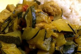 Receta de curry de verduras