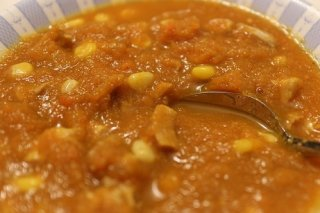 Receta de curry de zanahoria y maíz dulce