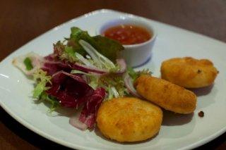 Receta de delicias de queso frito