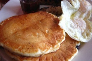 Receta de desayuno americano