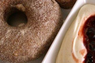 Receta de donut con queso
