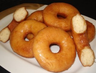 Receta de donuts fritos