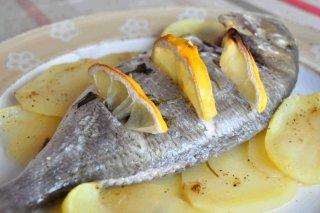 Receta de dorada al horno con limón