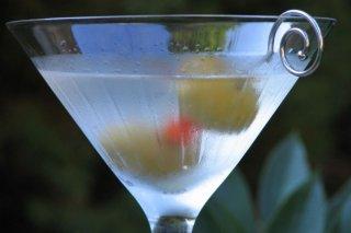 Receta de dry martini