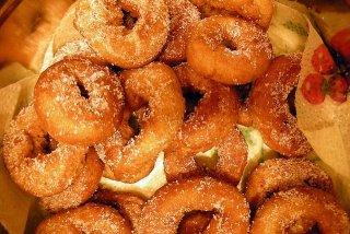Receta de rosquillas sin azúcar