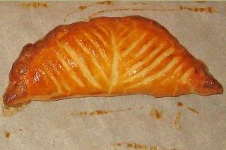Receta de empanada de jamón y queso