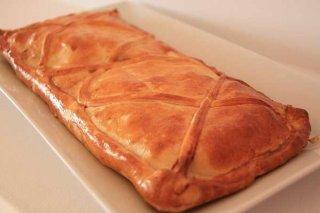 Receta de empanada de pescado con cebolla y pimiento