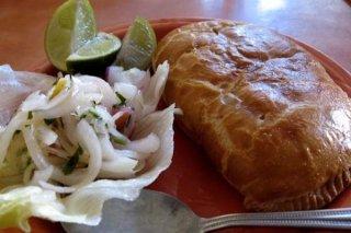 Receta de empanada de pollo boliviana