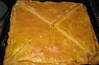 Receta de empanada de pollo y queso