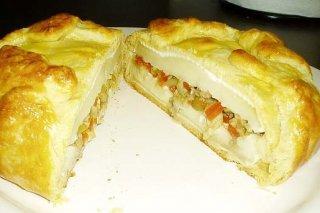Receta de empanada de queso brie