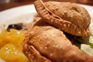 Receta de empanadas de pescado de río