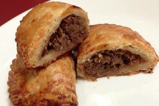 Receta de empanadillas con la carne de un cocido