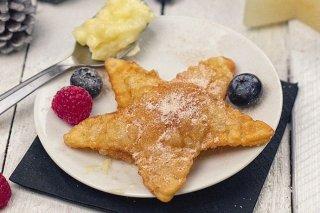 Receta de empanadillas dulces de crema y frutas del bosque