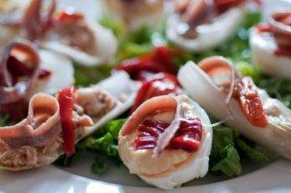 Receta de endibias rellenas de atún y queso