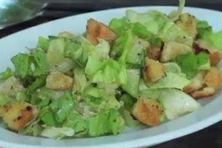Receta de ensalada césar original