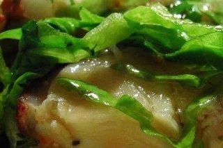 Receta de ensalada con bogavante