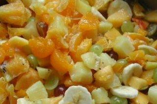 Receta de ensalada fria de frutas