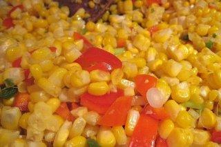 Receta de ensalada con maíz