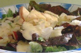 Receta de ensalada con manzana verde