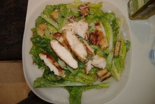 Receta de ensalada con pollo y fruta