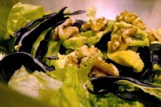 Receta de ensalada de aguacate y nueces