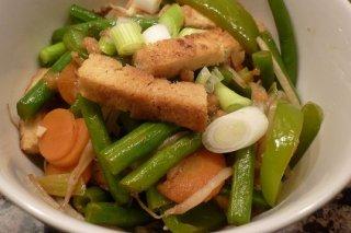 Receta de ensalada de albahaca con tirabeques