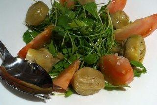 Receta de ensalada de alcachofa