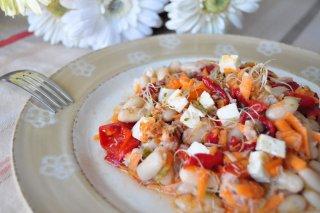 Receta de ensalada de alubias