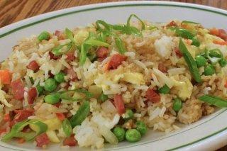 Receta de ensalada de arroz frito