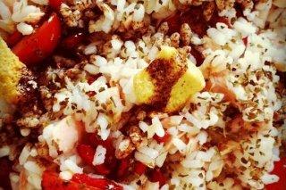 Receta de ensalada de arroz y atún