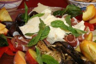 Receta de ensalada de berenjena con salsa de yogur