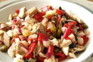 Receta de ensalada de bonito fresco