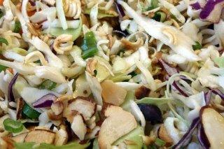 Receta de ensalada de brotes de soja