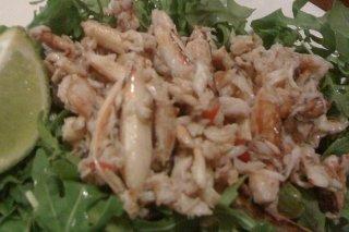 Receta de ensalada de cangrejo y lima