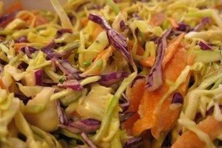 Receta de ensalada de col a la mostaza