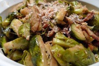 Receta de ensalada de coles con bacón