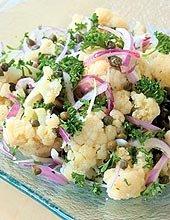 Receta de ensalada de coliflor